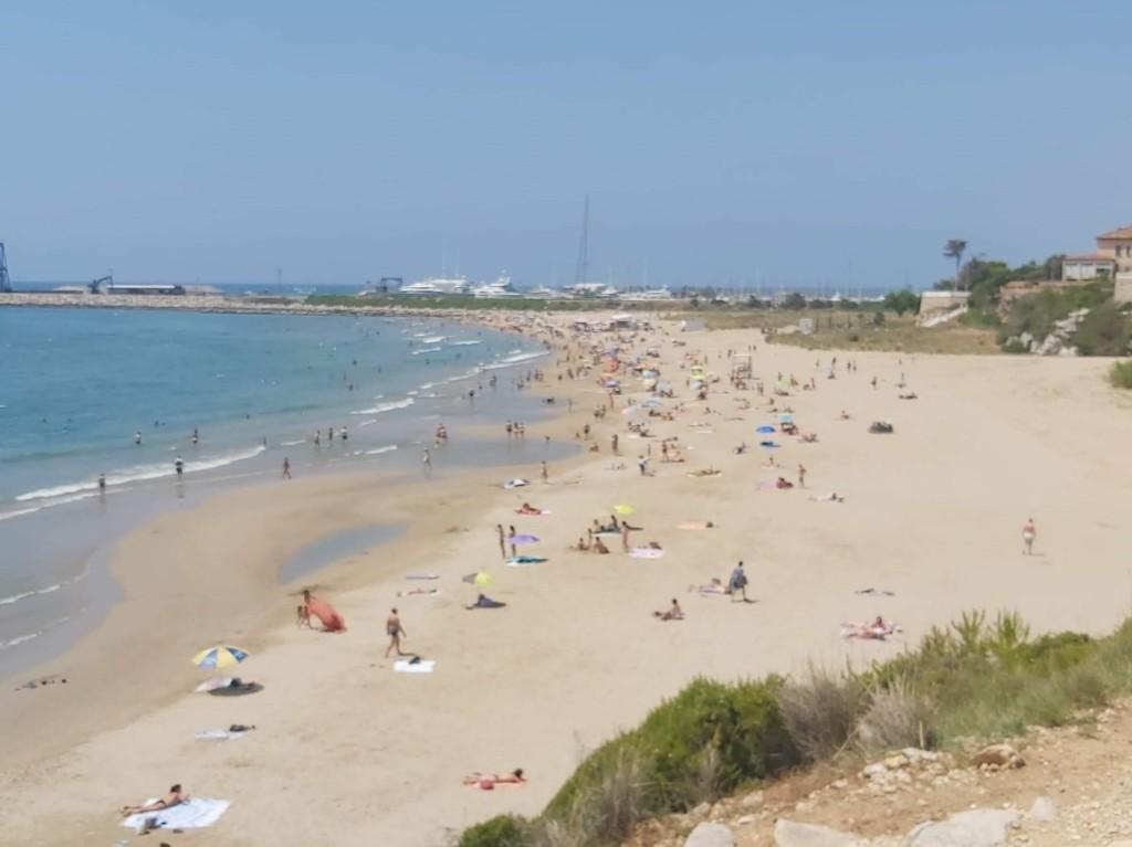 playa del Faro, Vilanova i la Geltrú, playas de vilanova, platges vilanova