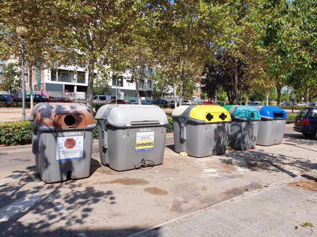 contenedores basura vilanova i la geltrú