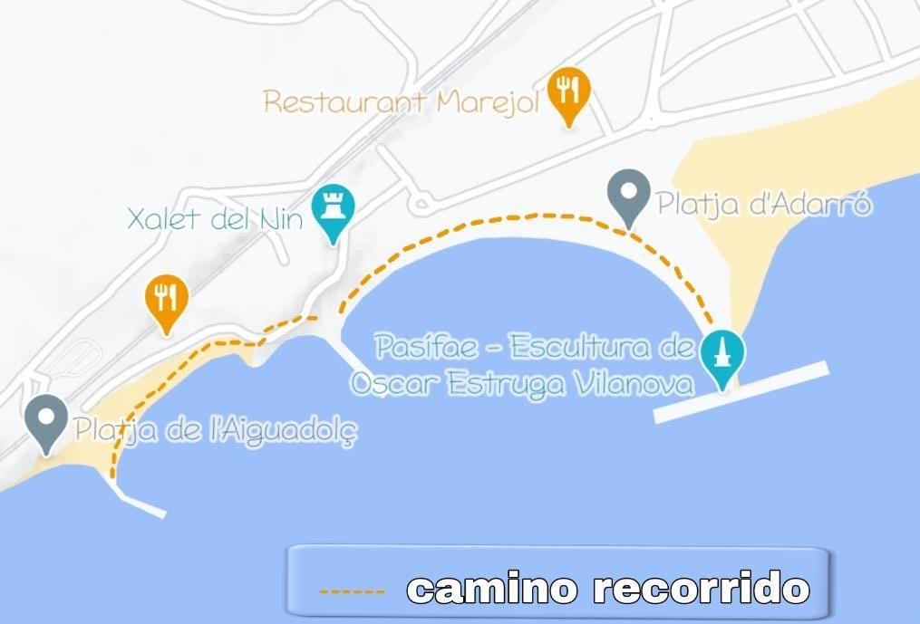 zona limpieza playas Vilanova i la Geltrú