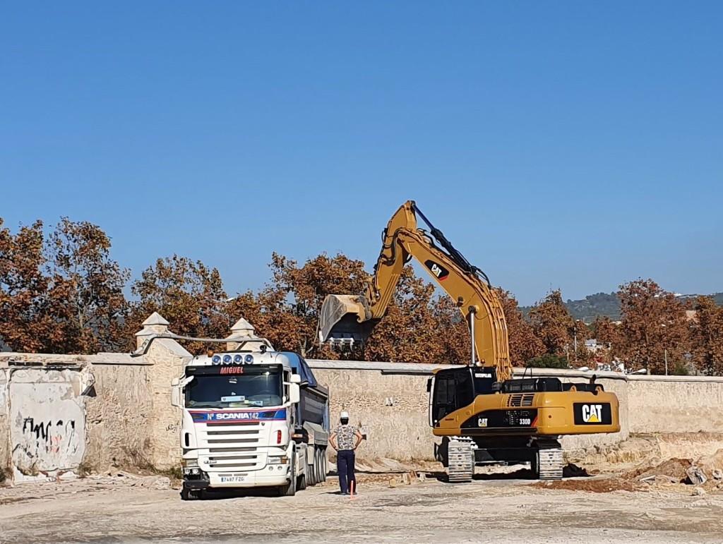 Vilanova I la Geltrú, construcción nuevo parque comercial