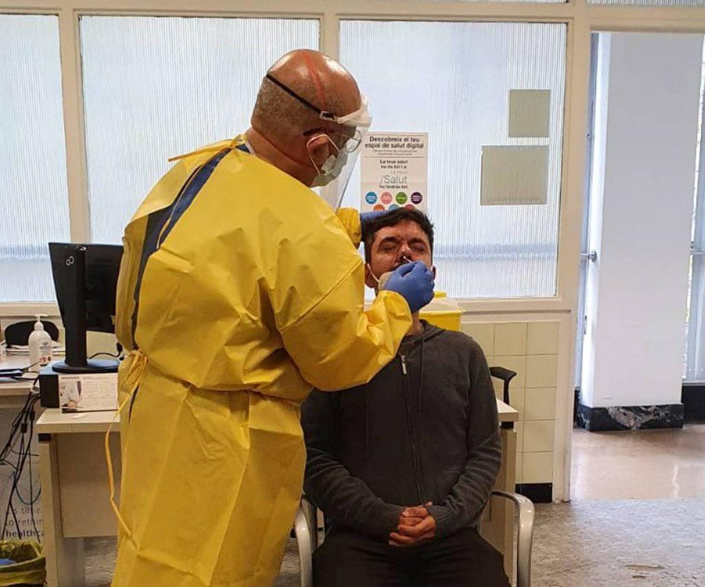 Las pruebas de coronavirus comienzan en Vilanova i la Geltrú. Villanueva y Geltrú
