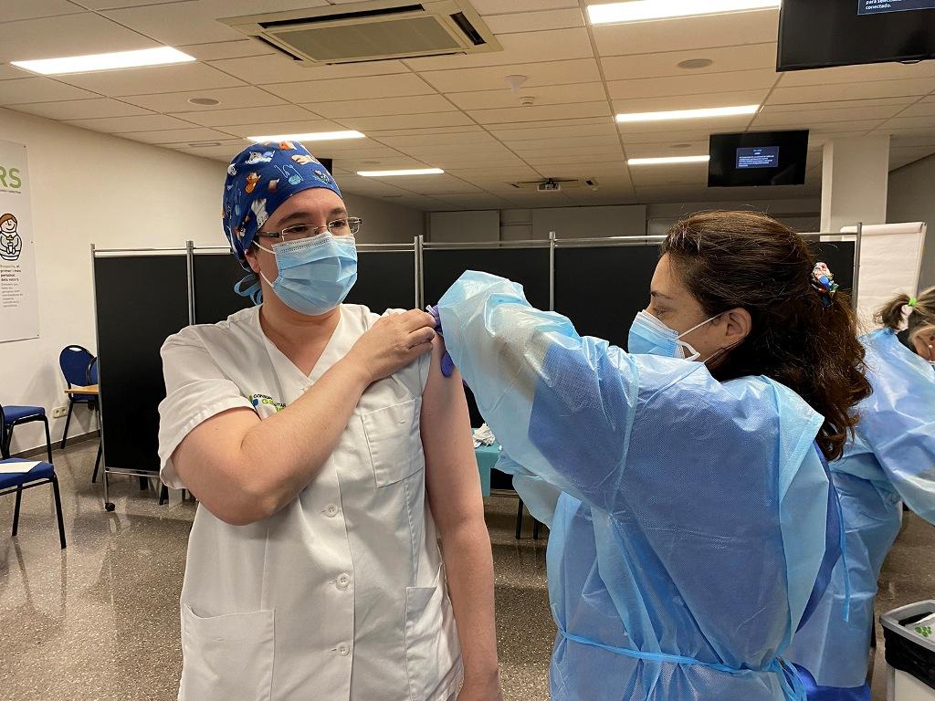 Comienza la campaña de vacunación contra el COVID en la comarca del Garraf