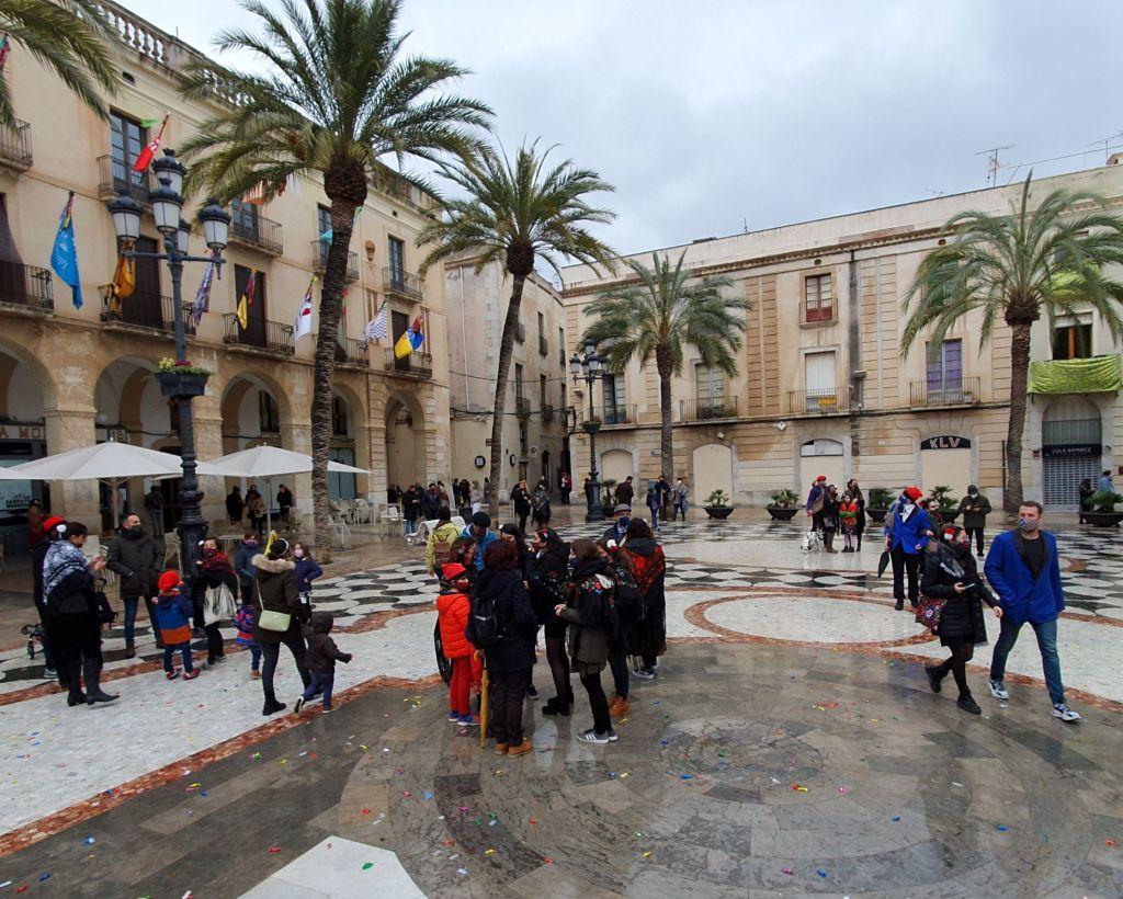 Plaça de la Vila, 14 febrero 2021
