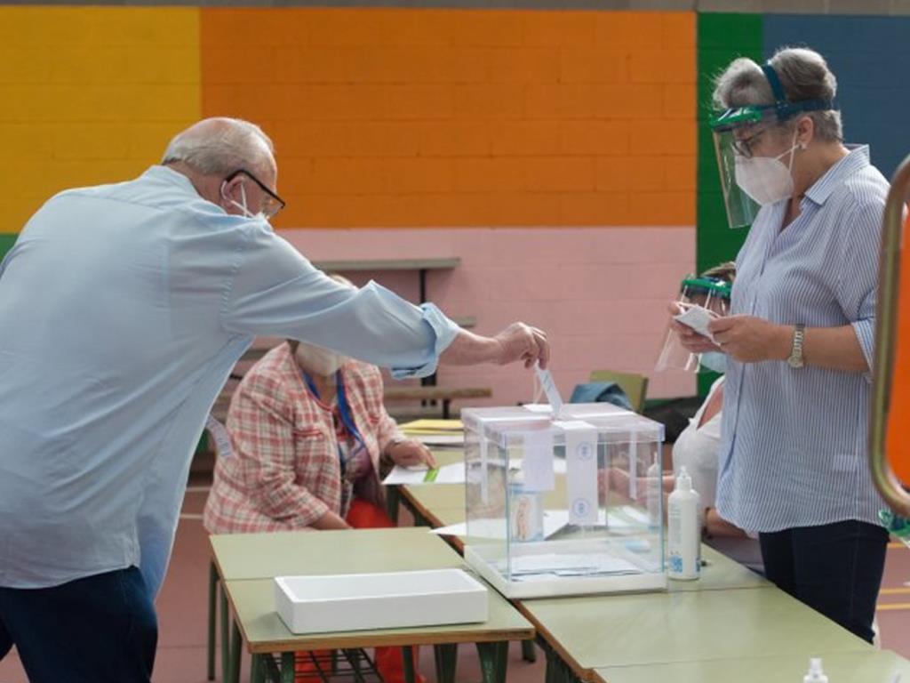 Medidas de seguridad elecciones al Parlament de Catalunya, 14 febrero 2021