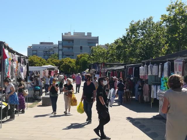 Mercado ambulante Vilanova i la Geltrú, sábados. Mercadillo Vilanova i la Geltrú.