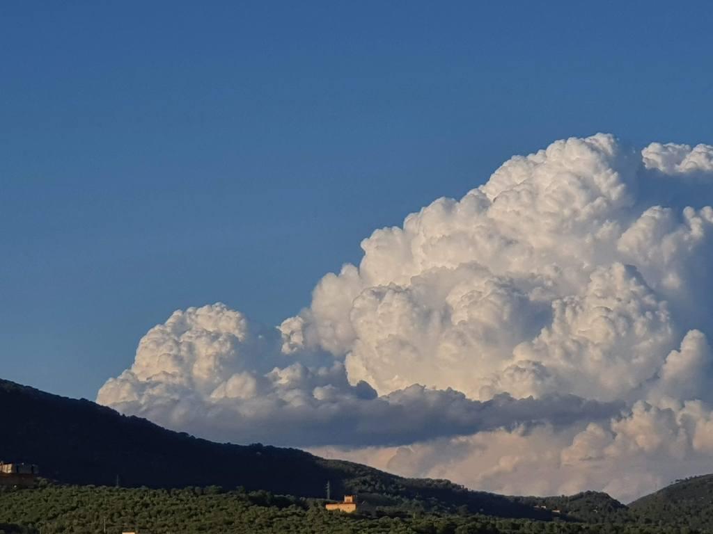Tiempo, nubes, lluvias en la comarca del Garraf
