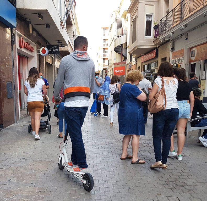 Circulación en patinete eléctrico, Vilanova i la Geltrú