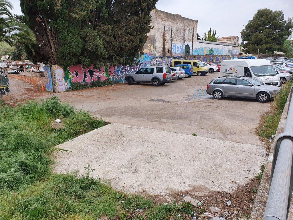 Torrente de Sant Joan, aparcamiento improvisado