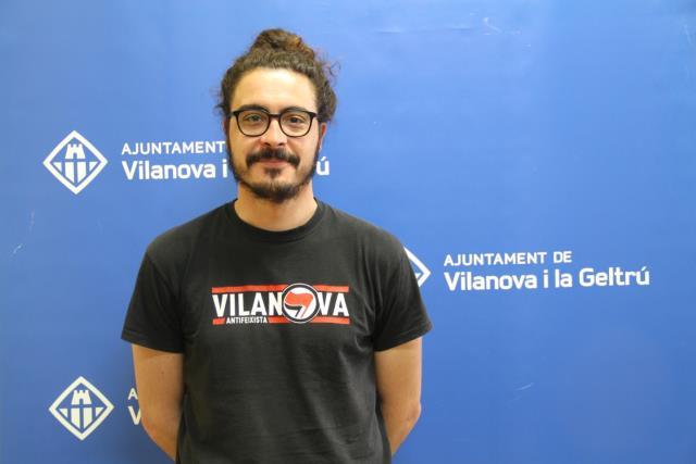 Enric Garriga, concejal de Salud, Ajuntament de Vilanova i la Geltrú.