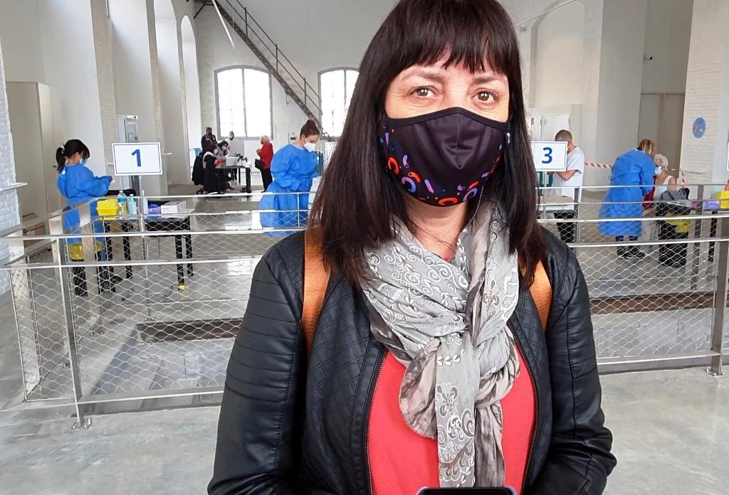 Olga Arnau, alcaldesa Vilanova i la Geltrú, foto abril 2021
