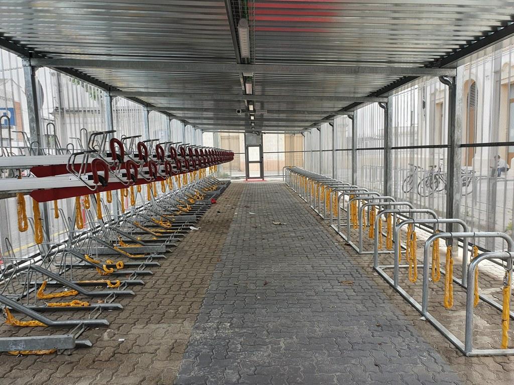 Cicloestació, aparcament per a bicicletes a Vilanova i la Geltrú