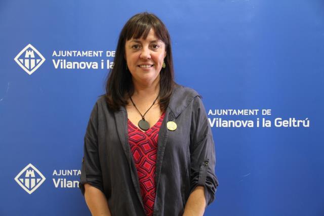Olga Arnau, alcaldesa de Vilanova i la Geltrú , foto
