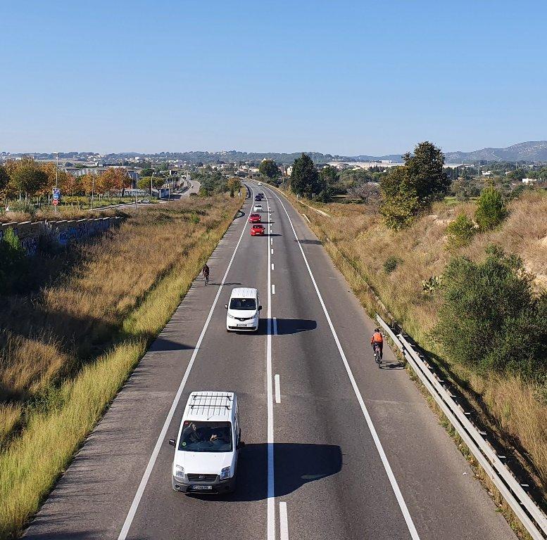 Variante de Vilanova i la Geltrú, carretera C-31, carretera de circunvalación Villanueva y Geltrú