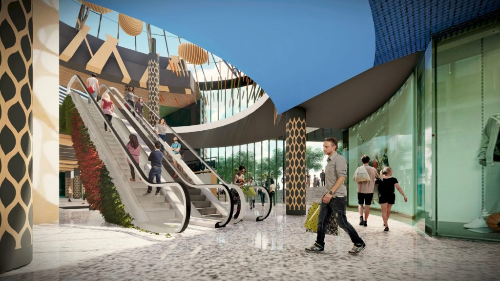 Centro comercial Nova Center, en VILANOVA I LA GELTRÚ. Entrada