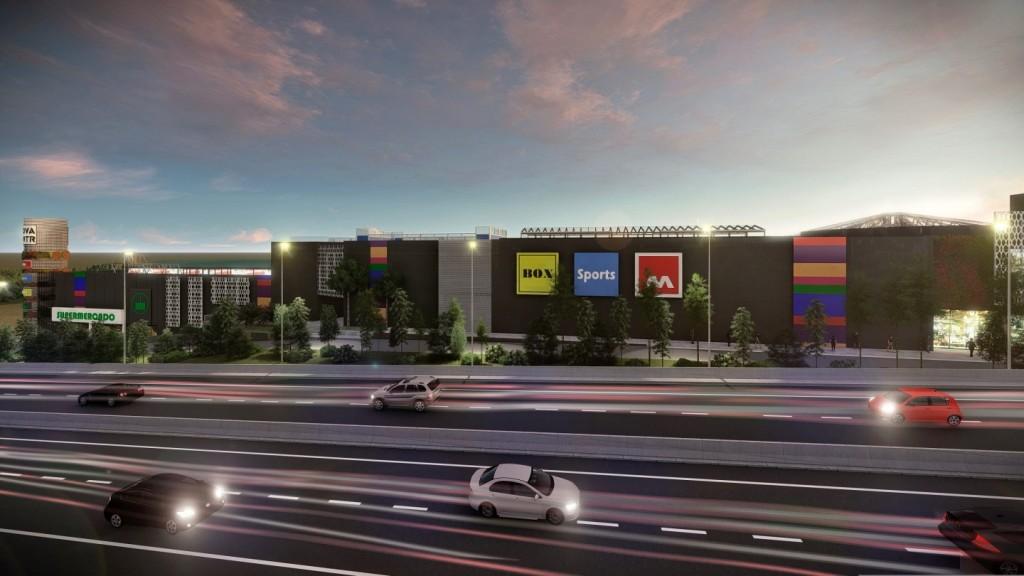 Centro comercial Nova Center, en VILANOVA I LA GELTRÚ.