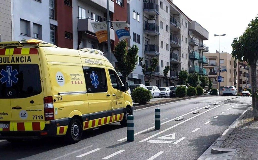Ambulancia, ronda Ibérica, VILANOVA I LA GELTRÚ