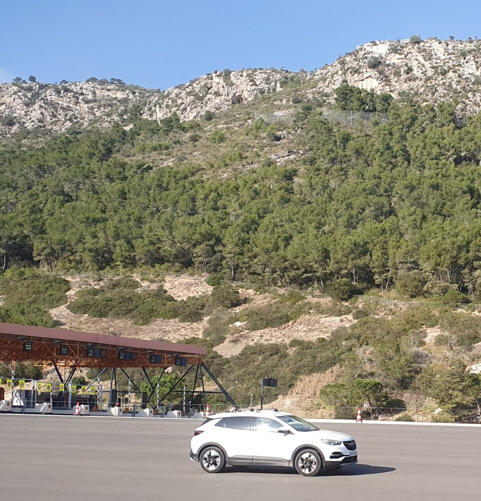 Autopista del Garraf C-32 Sur. Peaje Vallcarca, Túneles.