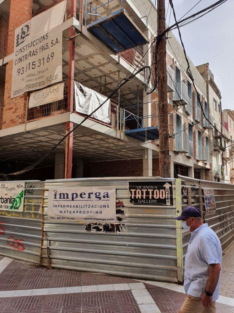 Obras. Pisos en venta en VILANOVA I LA GELTRÚ, Barcelona