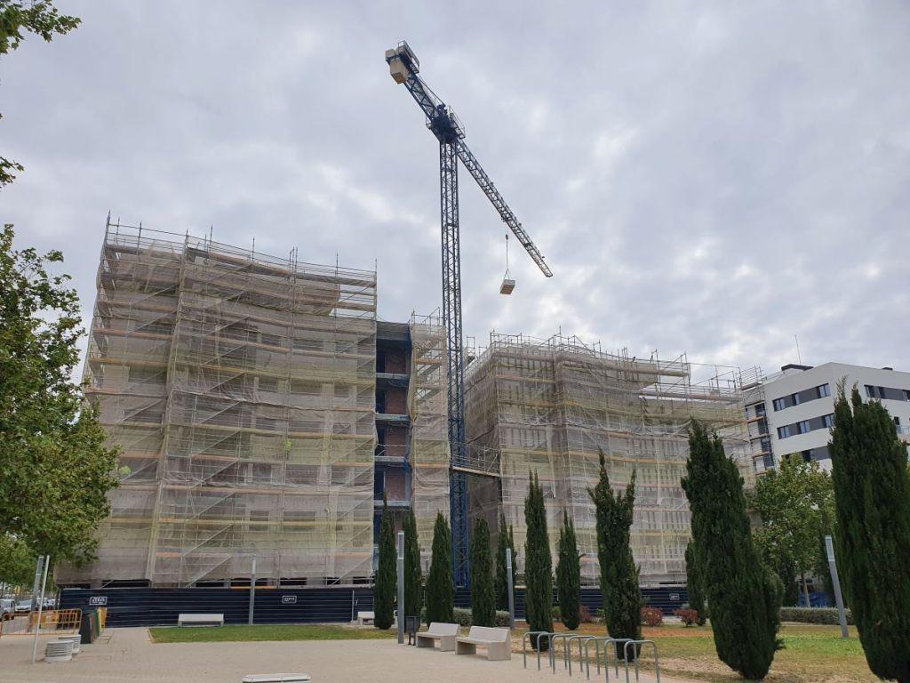 Pisos en venta Eixample de Mar, VILANOVA I LA GELTRÚ, obras de construcción